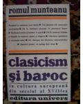 Clasicism si baroc-Romul Munteanu