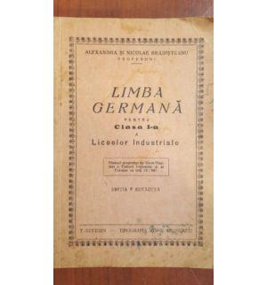 Limba germana pentru clasa I a liceelor industriale (ed.5) - Alexandra Bradisteanu, Nicolae Bradisteanu