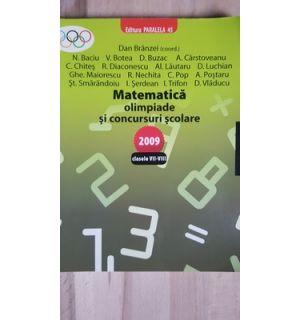 Matematica olimpiade si concursuri scolare clasele VII-VIII- Dan Branzei, N. Baciu