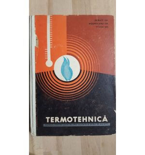 Termotehnica manual pentru licee de specialitate si scoli de maistri- Istrate Gh., Moldovanu Gh.