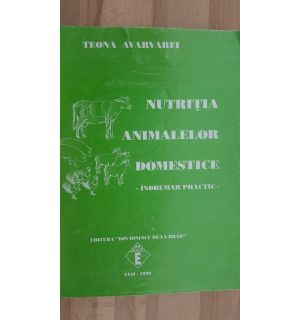 Nutritia animalelor domestice- Teona Avarvarei