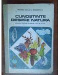 Cunostinte despre natura. Manual pentru cl.a3a si a4a