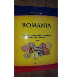 Romania Jetoane,semne valorice si marci - Erwin Schaffer