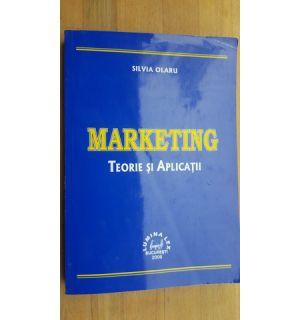 Marketing teorie si aplicatii- Silvia Olaru