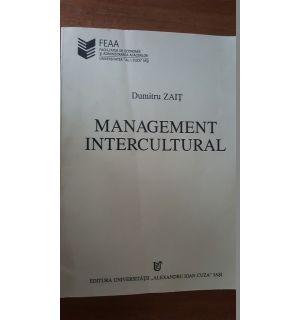 Management intercultural- Dumitru Zait