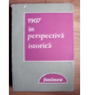 1907 in perspectiva istorica