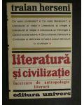 Literatura si civilizatie