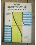 Teste recapitulative de matematica Calin Petru Nicolescu